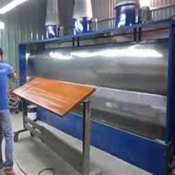 buồng phun sơn 5,5m - CTY Văn Phú