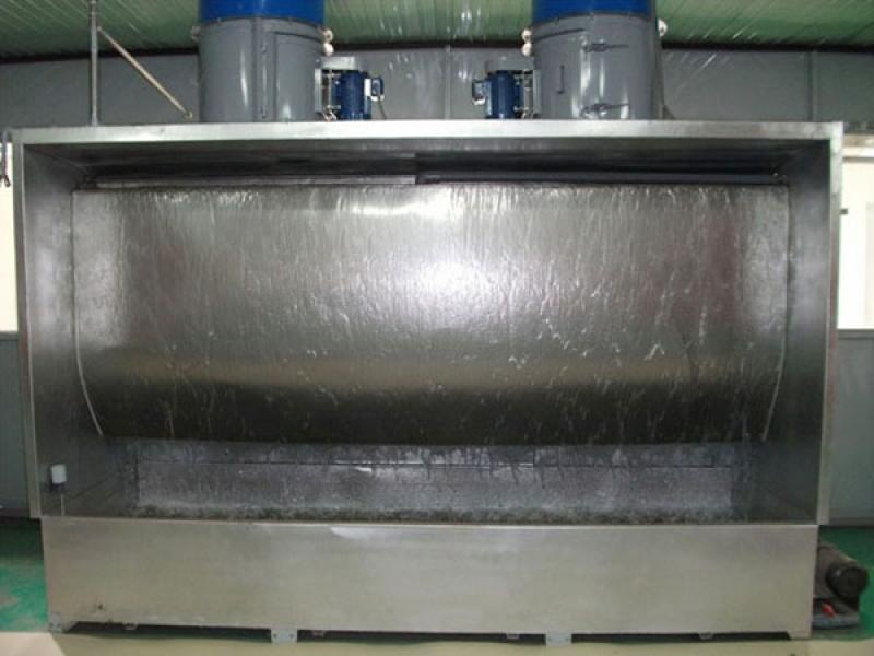 Buồng phun sơn hai màng nước hoạt động theo nguyên lý nào?-1