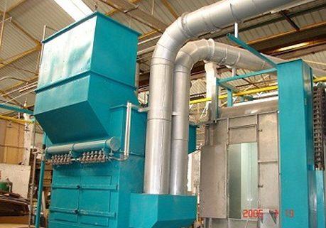 Tìm hiểu cấu tạo và nguyên lý làm việc của buồng phun sơn cyclone và dustcollector