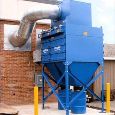 4. Tìm hiểu cấu tạo và nguyên lý làm việc của buồng phun sơn cyclone và dustcollector